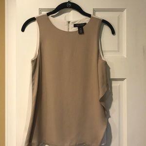 White House Black Market sleeveless shell blouse